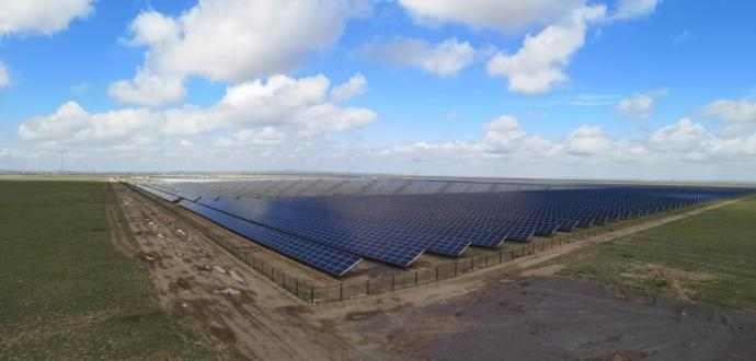 German investor built the third Solar power plant in Karaganda region